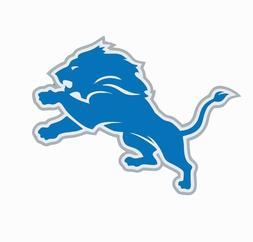 Detroit Lions NFL Football Color Logo Sports Decal Sticker -