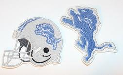 NFL Detroit Lions Embroidered Iron-on Patch FREE SHI